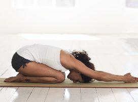 Child's Pose Hatha Yoga