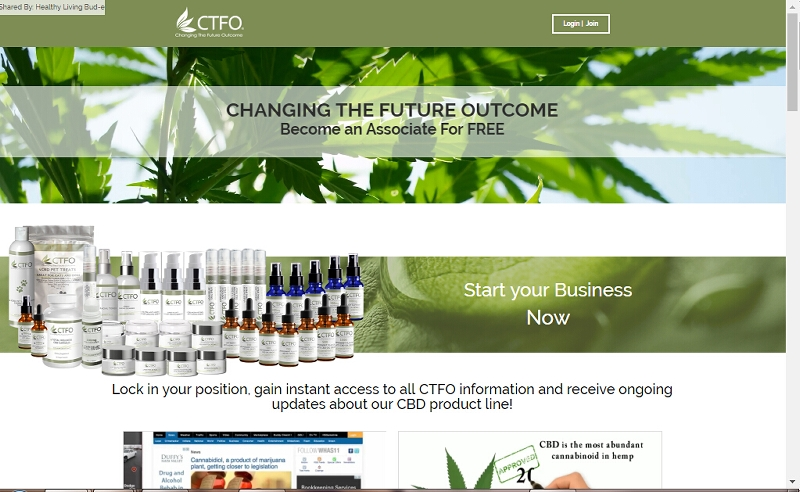 Healthy Living Bud-e CTFO Opportunity