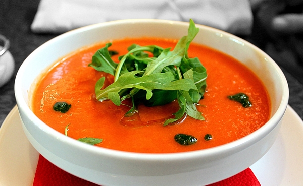 Gazpacho Soup for Lowering High Blood Pressure