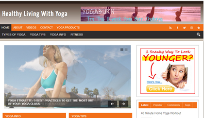 Healthy Living with Yoga Blog