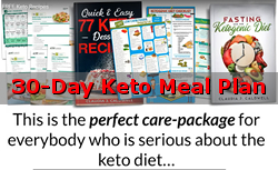 30-Day Keto Meal Plan